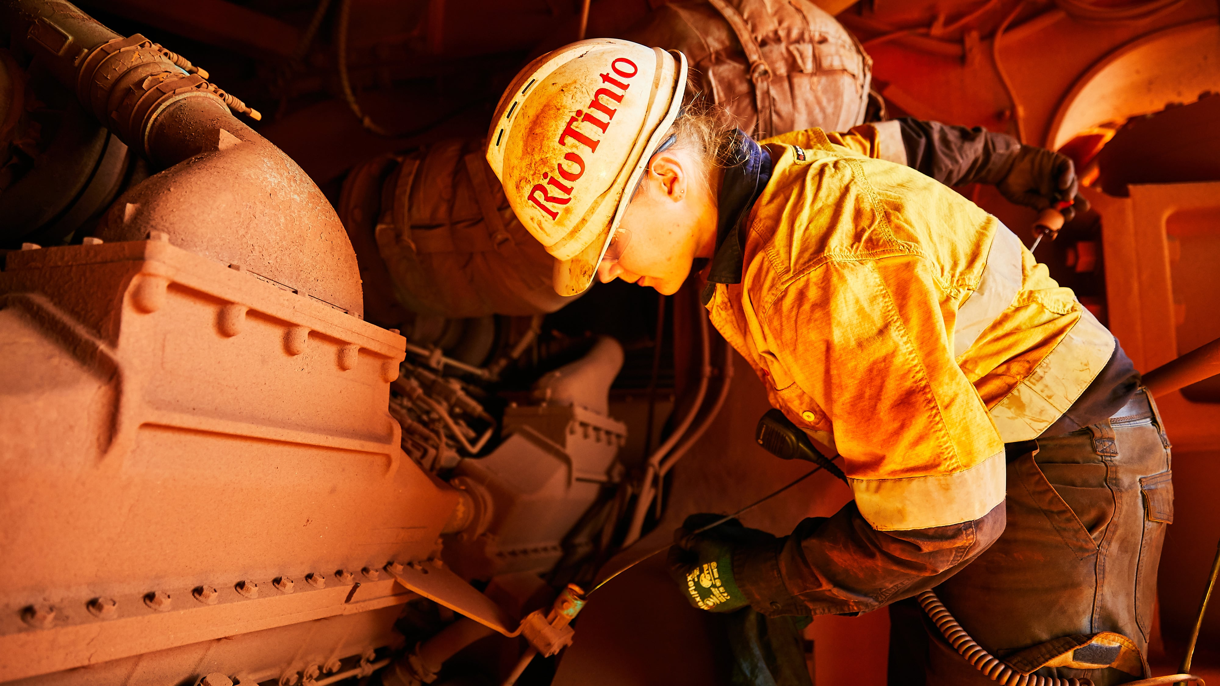 Technician at Yandicoogina, Pilbara