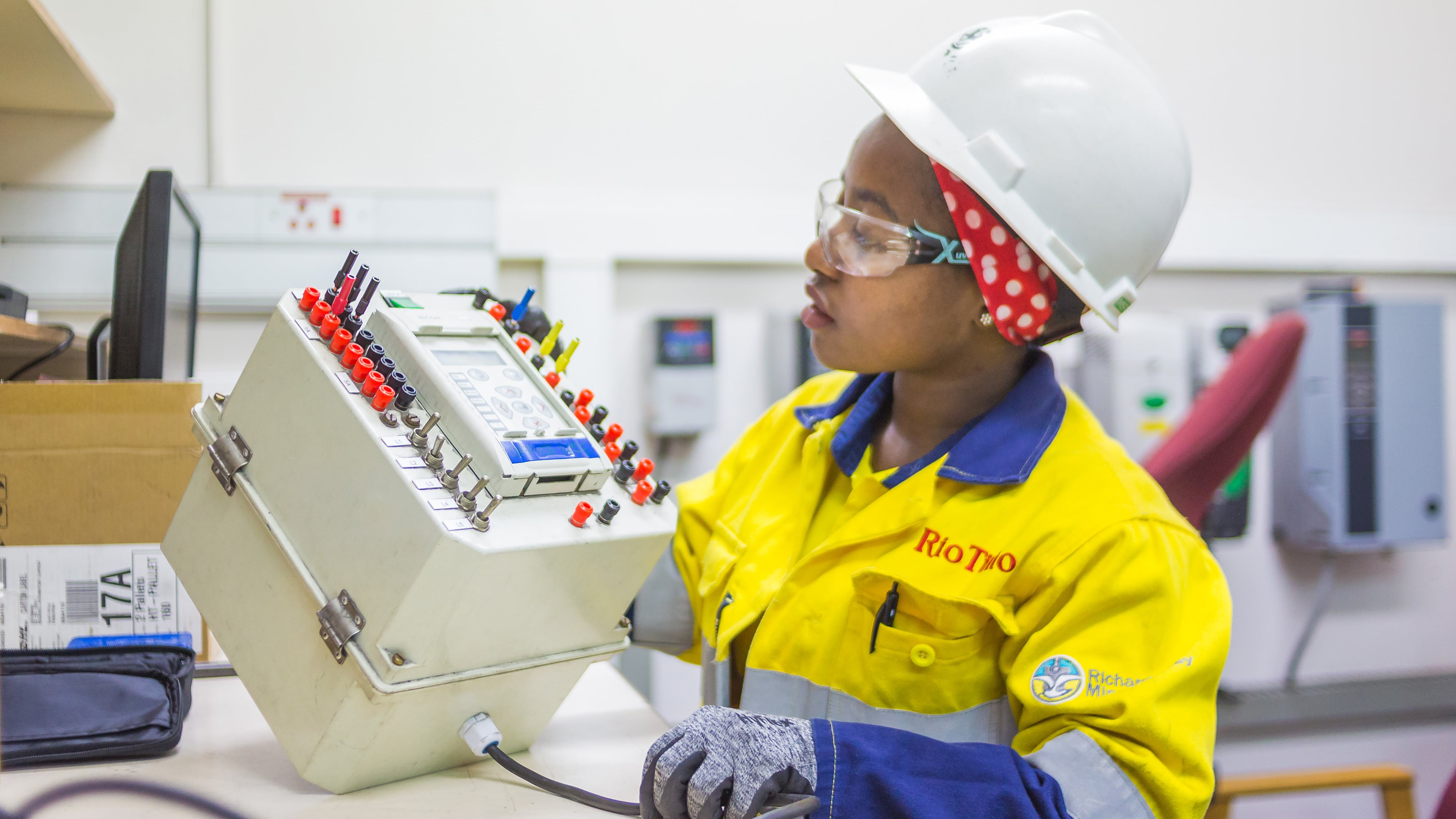 Technical work at Richards Bay Minerals