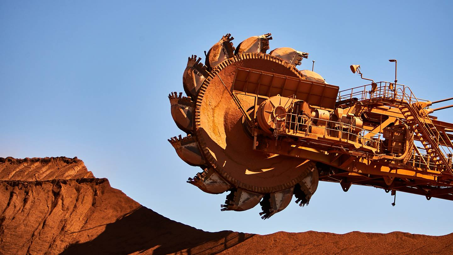 Machinery, Cape Lambert, Pilbara