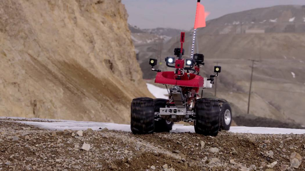 Mark the robot at Kennecott