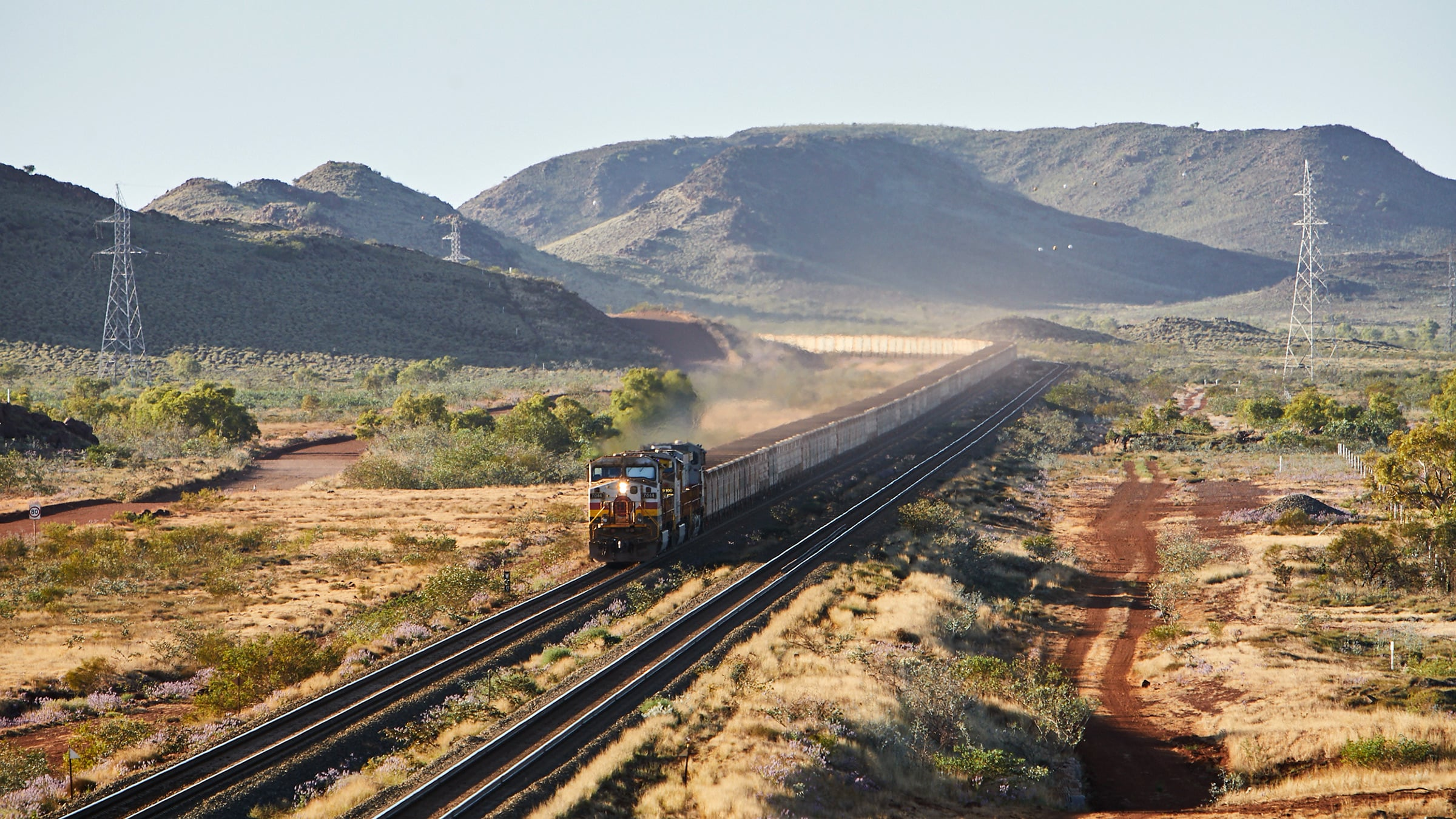 AutoHaul train, Pilbara