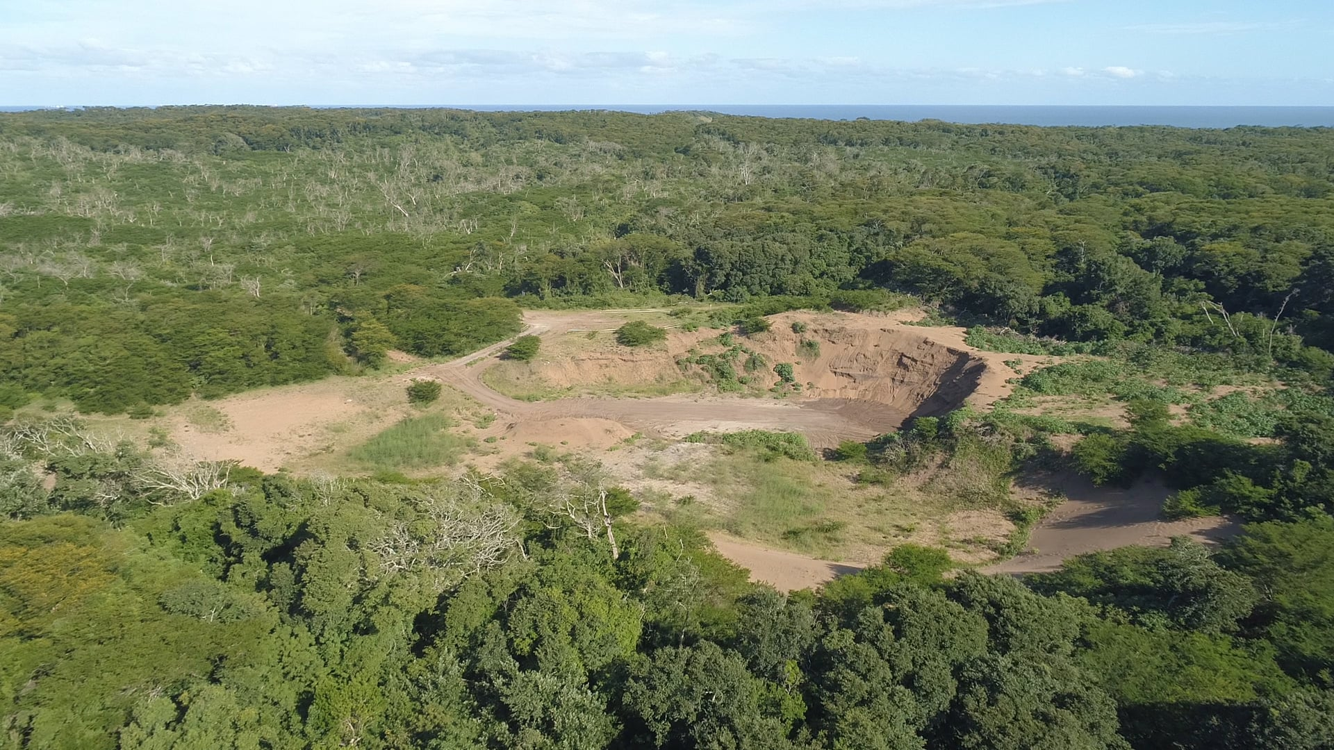 Zulti South from the air