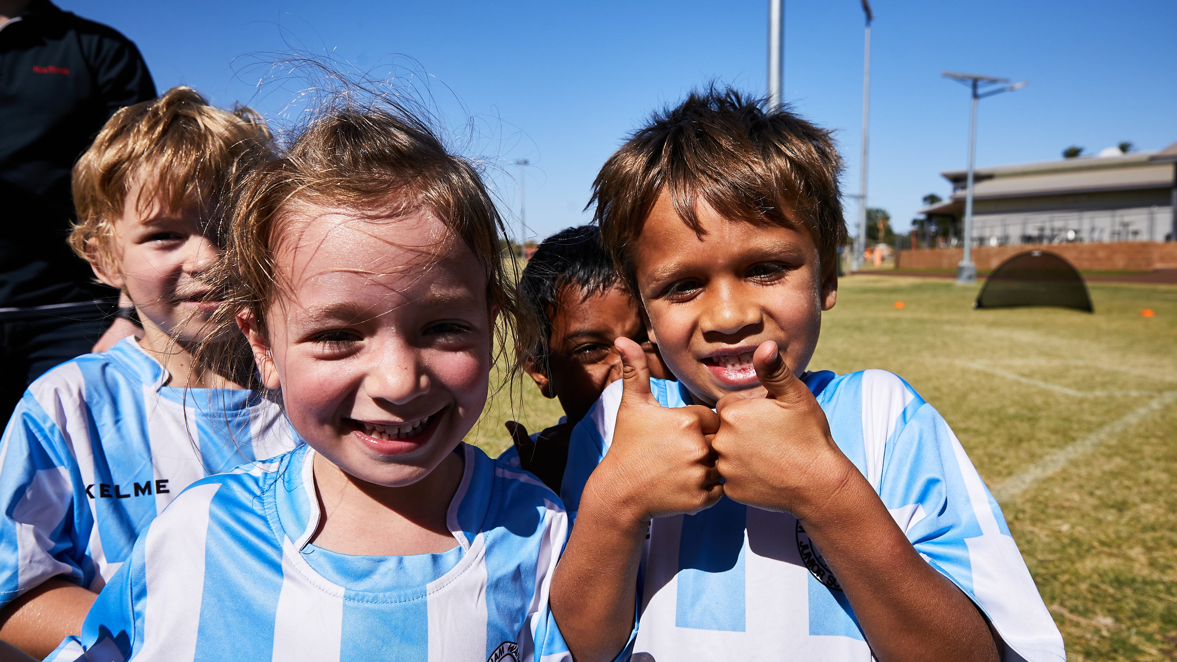 Kids in the Pilbara community
