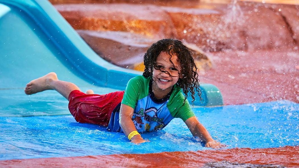 Waterslide in the Pilbara