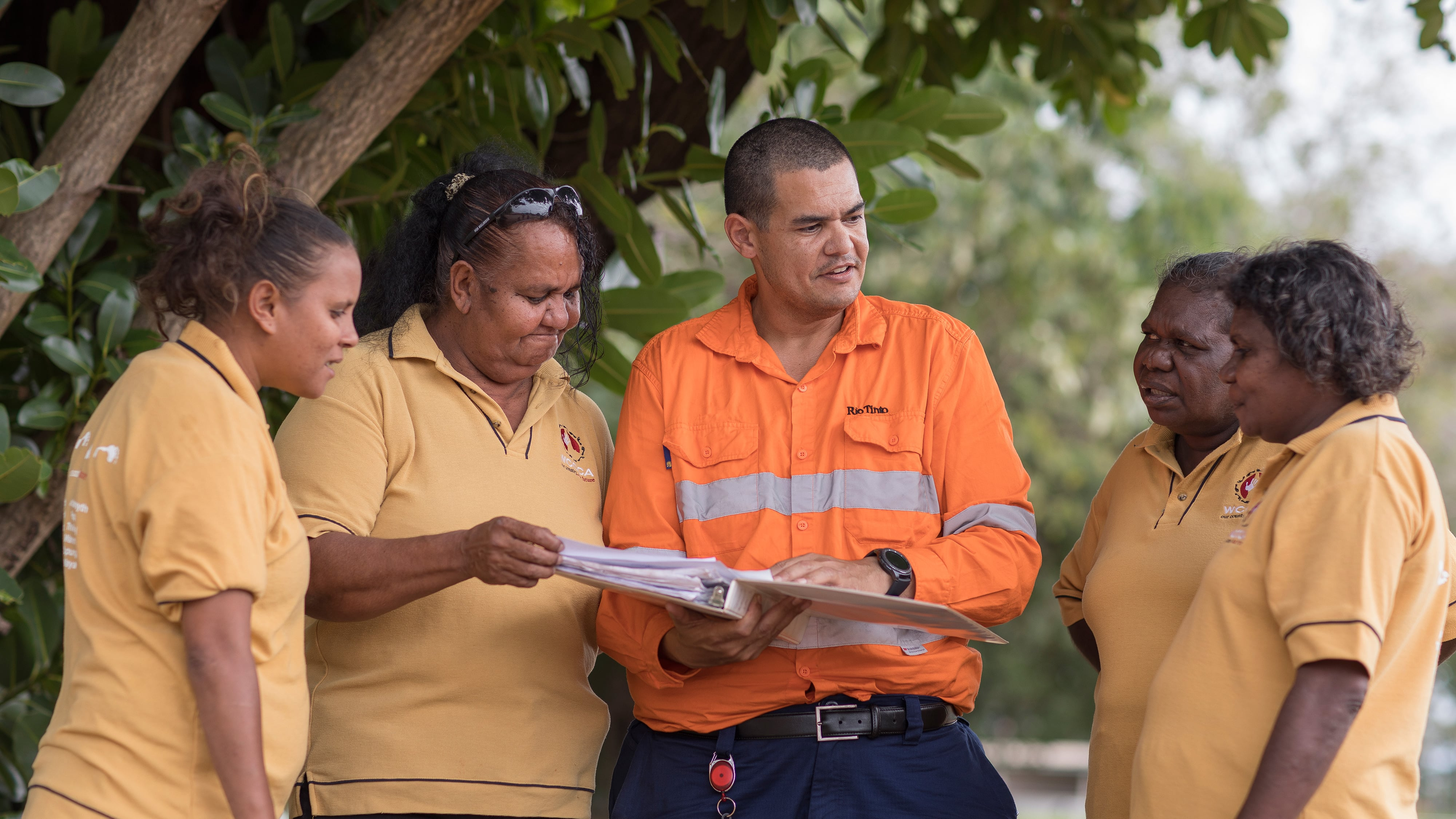 Liaison with Indigenous stakeholders, Weipa