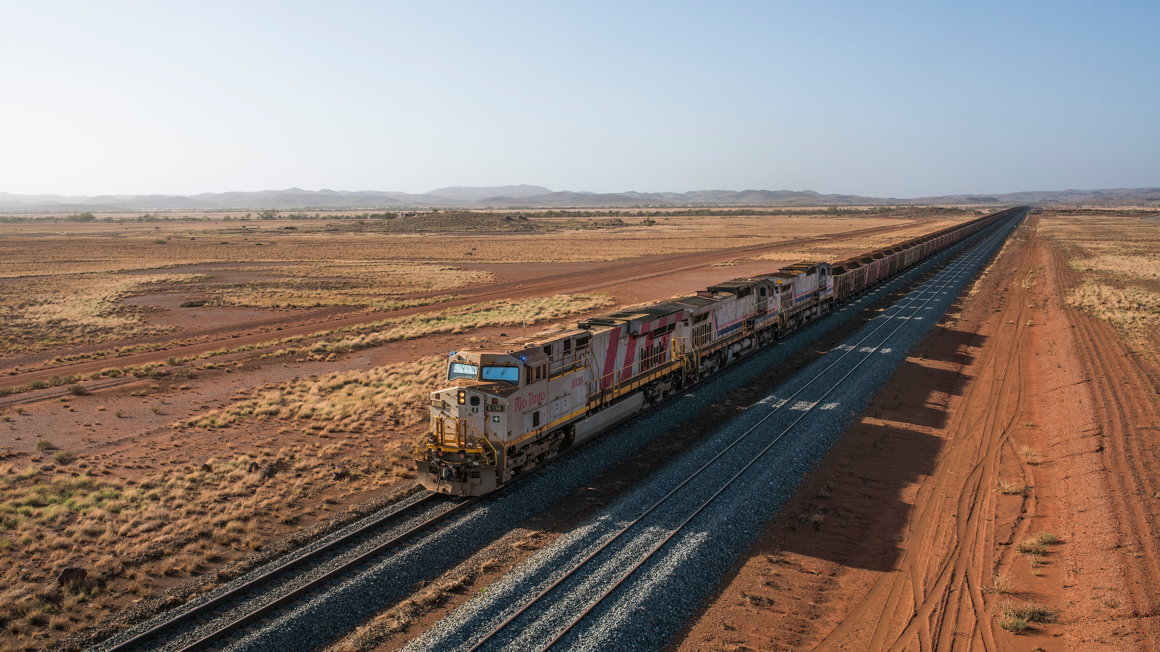Driverless AutoHaul train, Pilbara