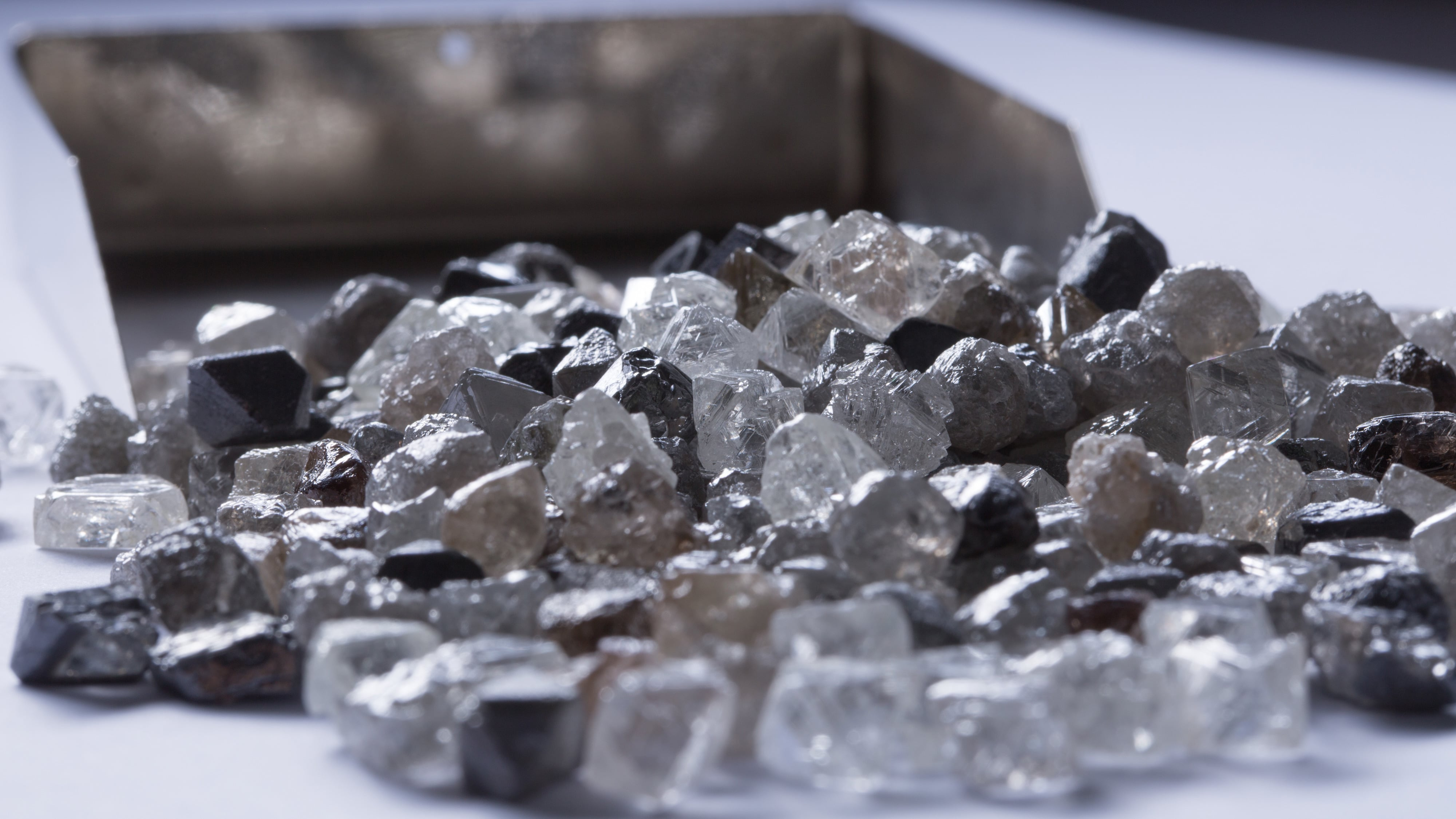 Diavik rough diamonds