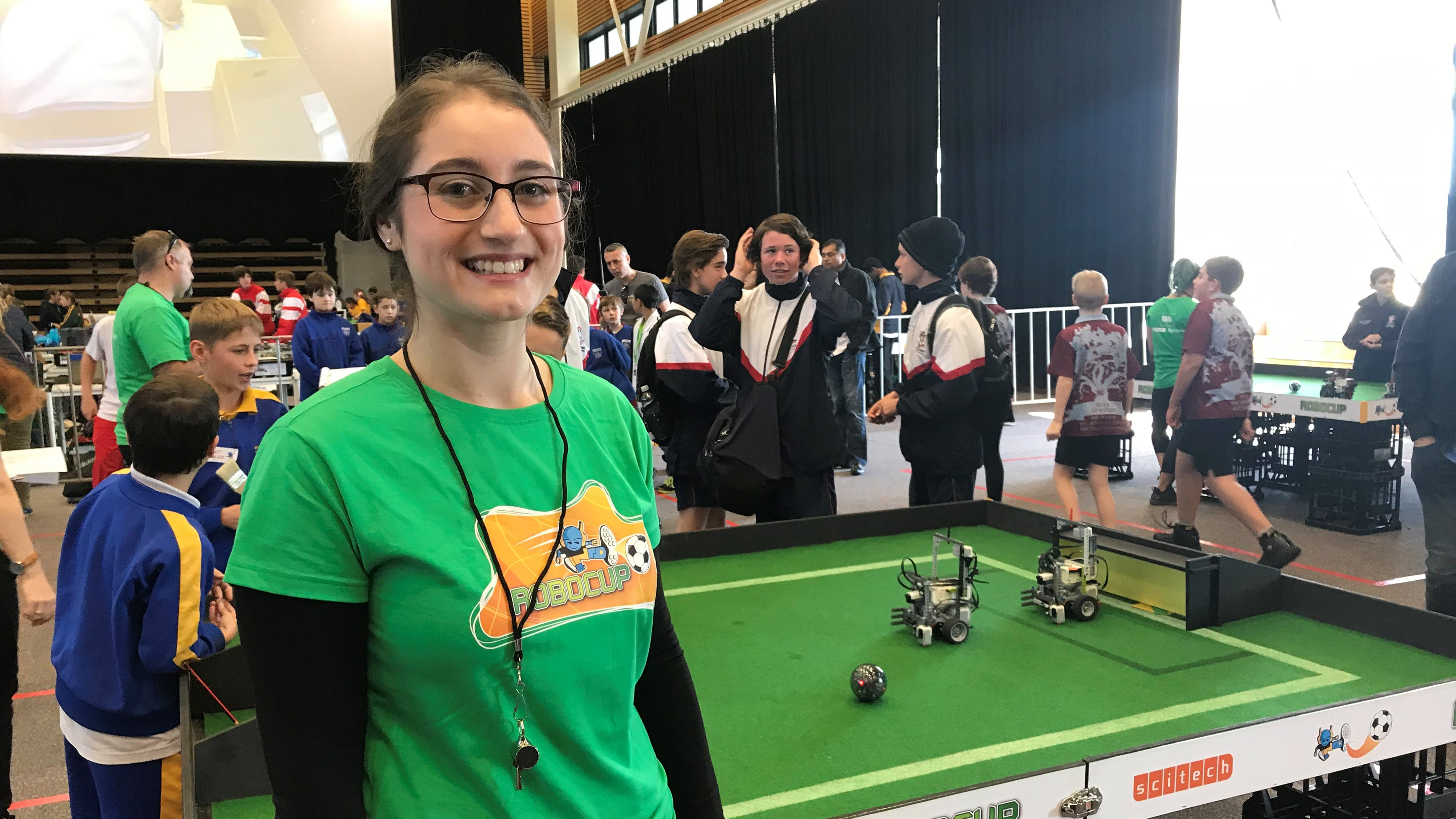 Claudia, RoboCup Junior Mentor