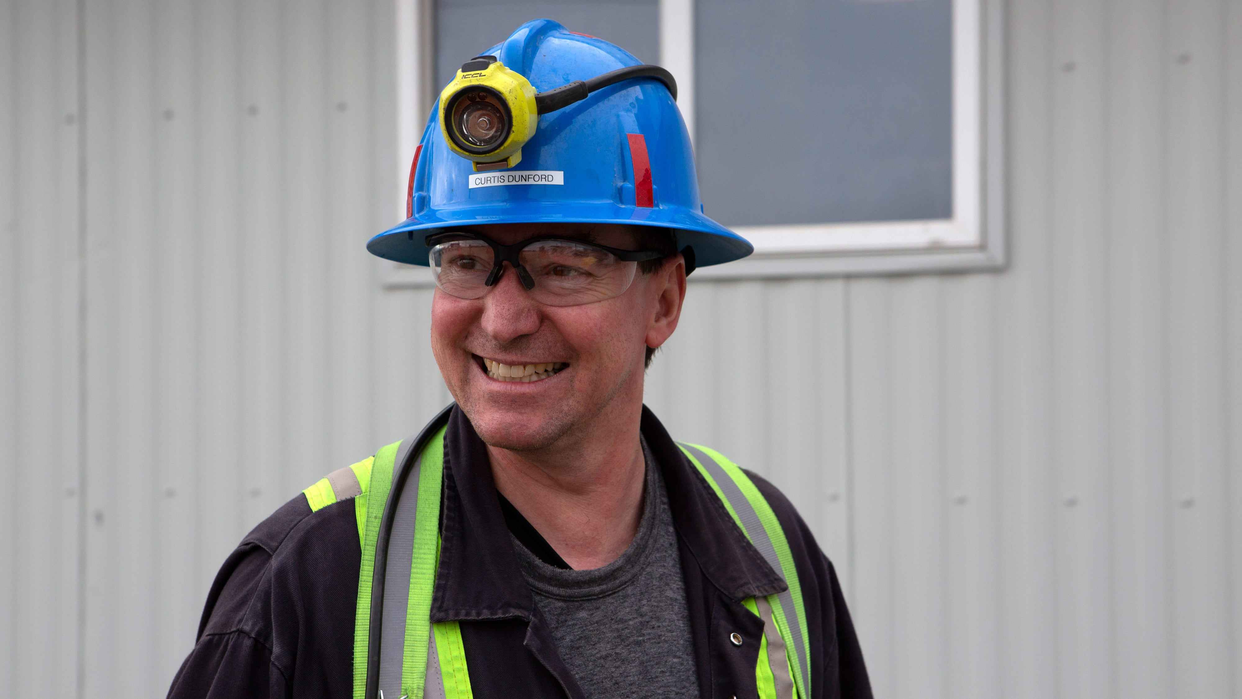 Curtis, Underground Manager at Diavik